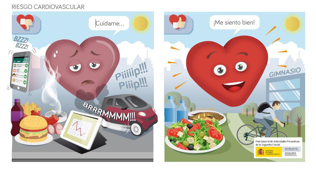 ca8244378539d Día Europeo de la prevención del riesgo cardiovascular. Las enfermedades  cardiovasculares ...