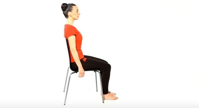 Abdominal breathing exercise